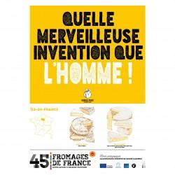 L'affiche Fromages AOP Ile de France