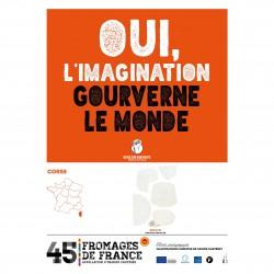 L'affiche des Fromages AOP Corse