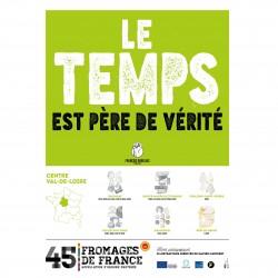 L'affiche Fromages AOP Centre val de Loire
