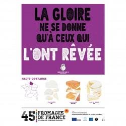 L'affiche Fromages AOP Hauts de France
