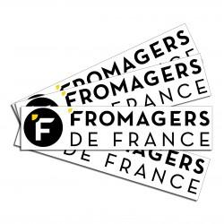 Le grand autocollant de la fédération des fromagers de france