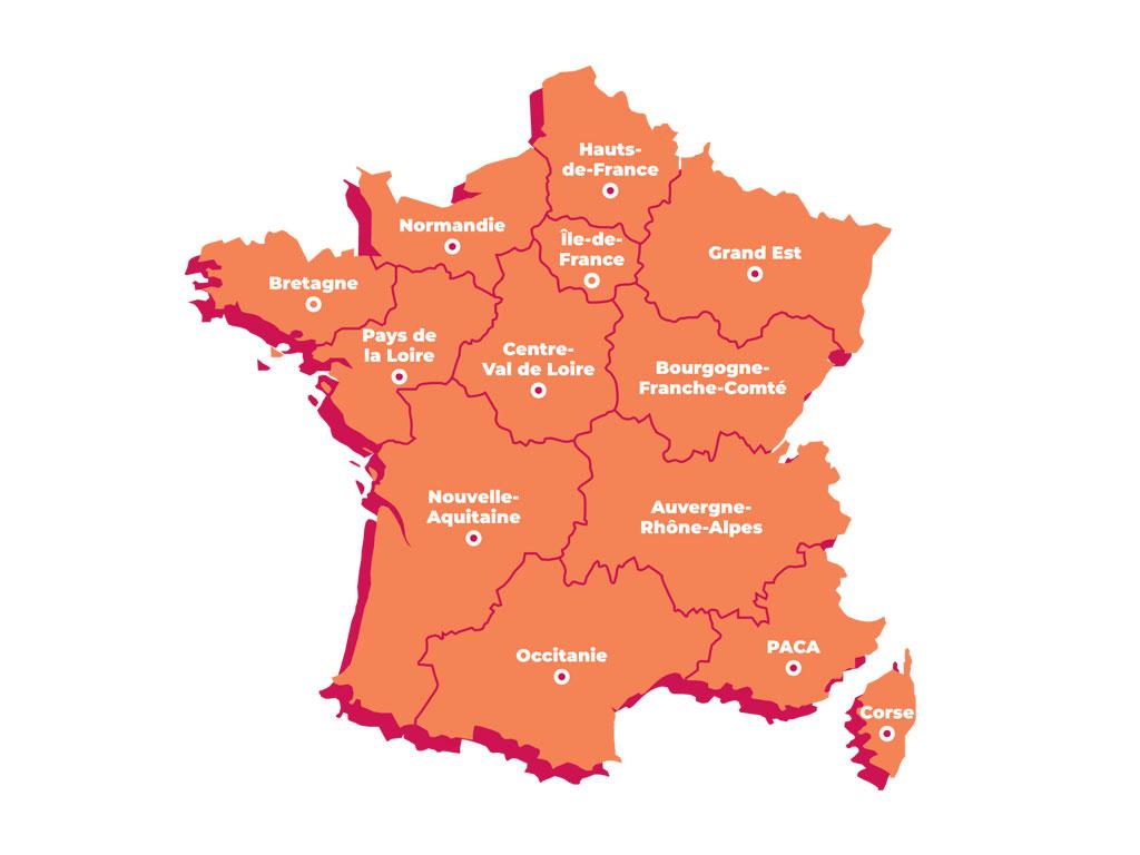 Unions régionales fédération des fromagers de France